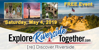 Join Team Inspire May 4th @ Explore Riverside Together
