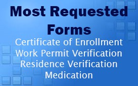 Need a DDS Certificate of Enrollment, ADAP Replacement, or Work Permit?