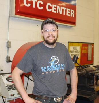 Student SpotLight from Auto Tech I:  Cody West