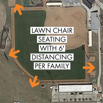 Softball Seating: Lawn Chairs