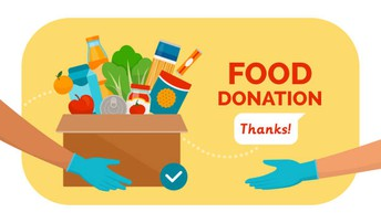 Food Drive Opportunity- See below for more information