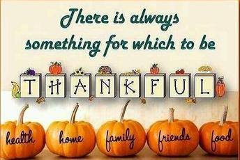 Thanksgiving Holiday - November 25th - 29th