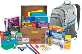 School Kits for Next Year.