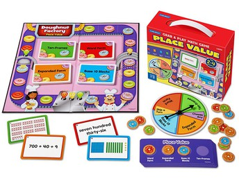 Place Value Grab & Play Game - Gr. 1-2