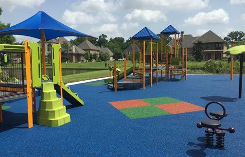 Pre K-2 playground shade   Pre K-2 playground PIP surface