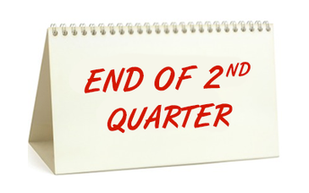 End of 2nd Quarter Is Near
