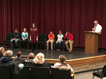 Noble County Spelling Bee