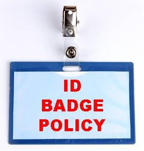 ID Badges Required Daily