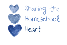 Sharing The Homeschool Heart... It's the little things.