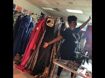 Prom Closet at Carver HS