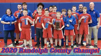 Union City wins JH County Wrestling Meet