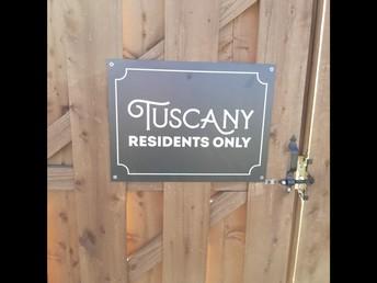 Tuscany - No Parking