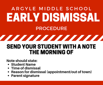 AMS Early Dismissal Procedure
