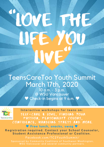 Teen Summit March 17th