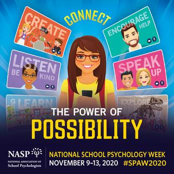 School Psychology Week: Nov. 9-13
