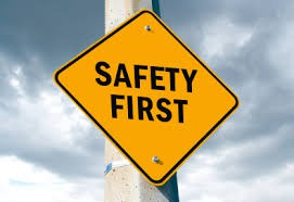 Safety and Security-                                           Please review with Advisory students