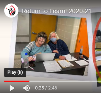 Supt. Paul's Return to Learn! video at YouTube