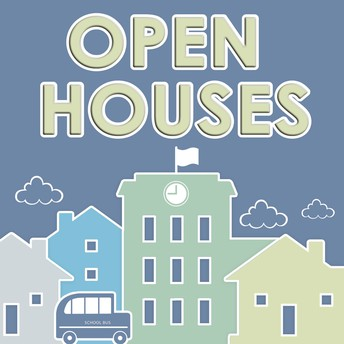 Plan to attend our Open House events