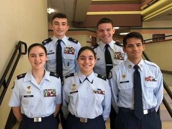 Air Force JROTC Scholarship Recipients