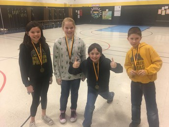Golden Readers - Battle of the Books Champs