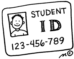 Student identification badges