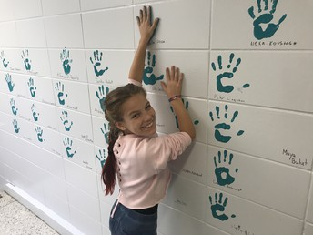 Fifth Grade Handprints