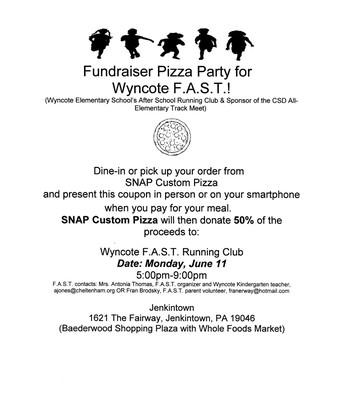 Wyncote F.A.S.T. Fundraiser