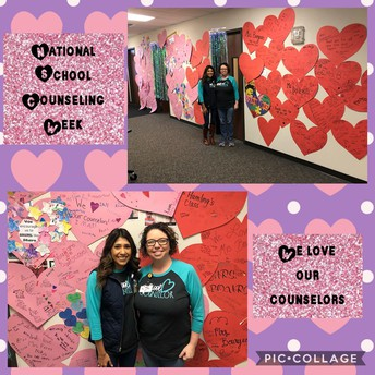 We love our counselors!