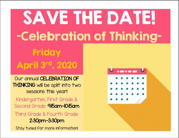 Celebration of Thinking Flyer