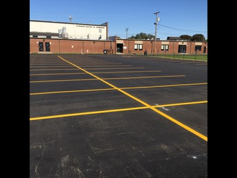 East Campus Parking Lot Resurfacing Project