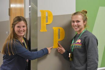 Turning the Halls of PHS GOLD--a New Tradition Begins!