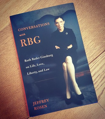 Conversations with RBG by Jefferey Rosen