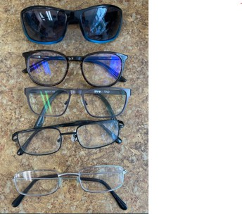 Lost and found glasses