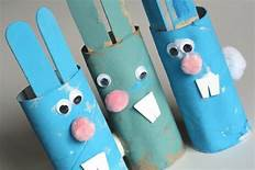Rabbits from tubes and sticks!
