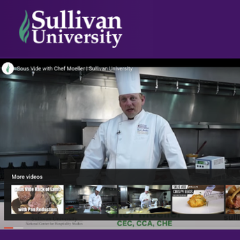 National Center for Hospitality Studies screenshot