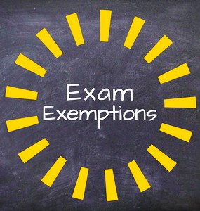CHS Spring Final Exemptions