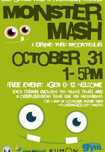 Monster Mash: A Drive-Thru Trick-or-Treat!