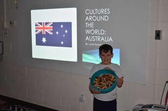 3rd Grade was able to teach each other about different cultures, and share some goodies.