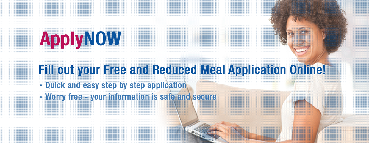 Click this image to link to the Free & Reduced Lunch application.