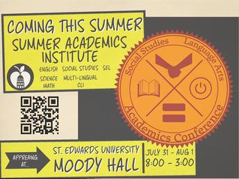 Austin ISD Summer Academics Institute