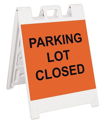 North Parking Lot - Closed Tuesday, October 6