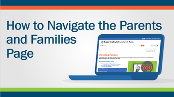Icon- How to Navigate the Parents and Families Page
