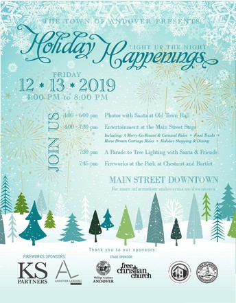 Town of Andover 2020 Holiday Events