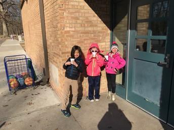 Hot Chocolate Day at Recess