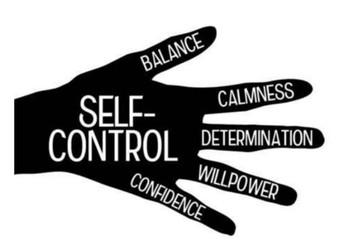October Focus Character Trait - Self Control