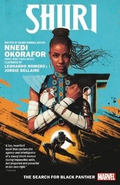 Shuri - The Search For Black Panther: Nnedi Okorafor