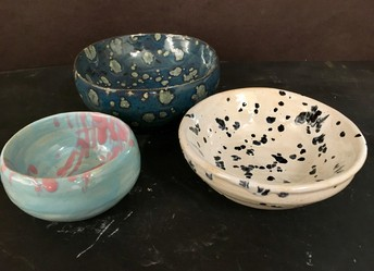 National Art Honor Society Donates Soup Bowls for Hunger