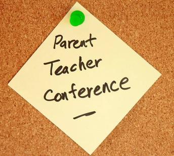 Fall parent-teacher conferences!