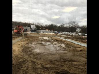 Ms. Uskert's Class Enjoying the Construction View!
