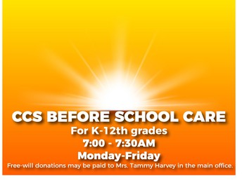 CCS Before School Care (K-12th grade)